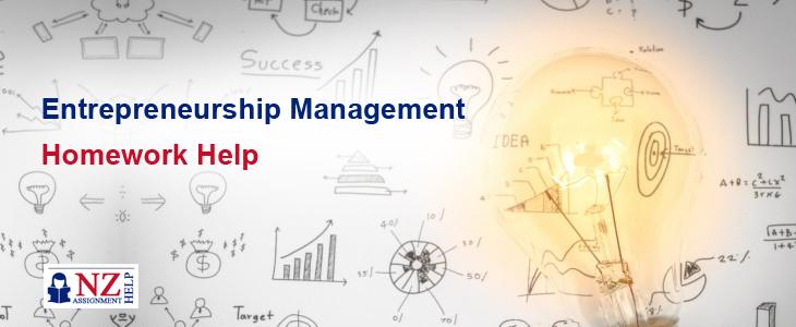 Entrepreneurship Management Homework Help