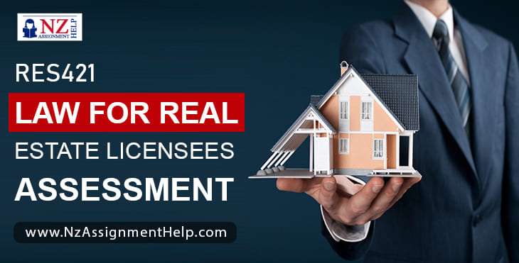 RES421 Law for Real Estate Licensees Assessment