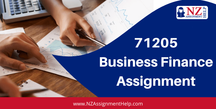 71205 Level 6 Business Finance Assignment Answer