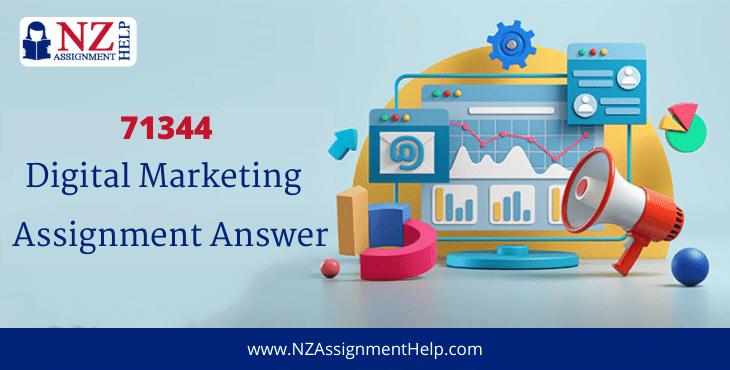 71344 Digital Marketing Level 7 Assignment Answer